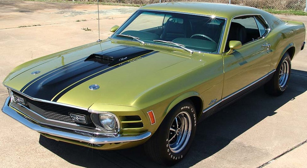 1970 Ford Mustang MACH 1-13545345