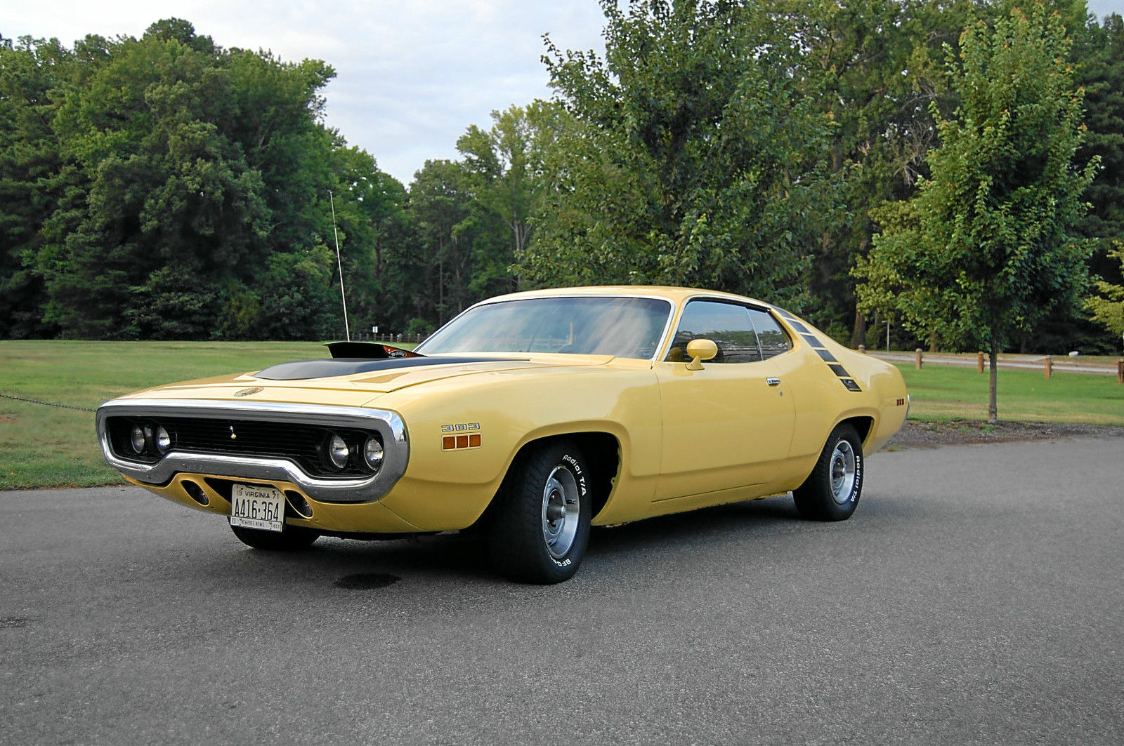 1971 Plymouth Road Runner-12345234