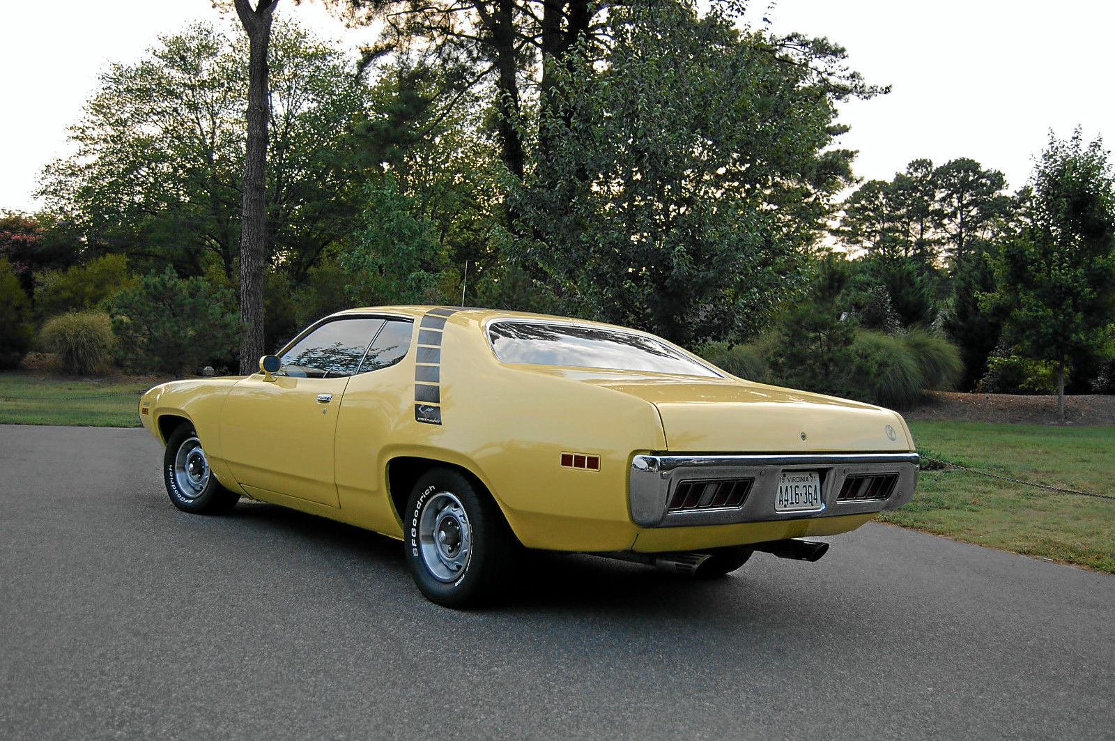road runner 1971 muscle - photo #12