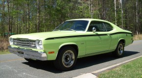 1973 Plymouth Duster 340 5.6L 408 stroker with matching number engine