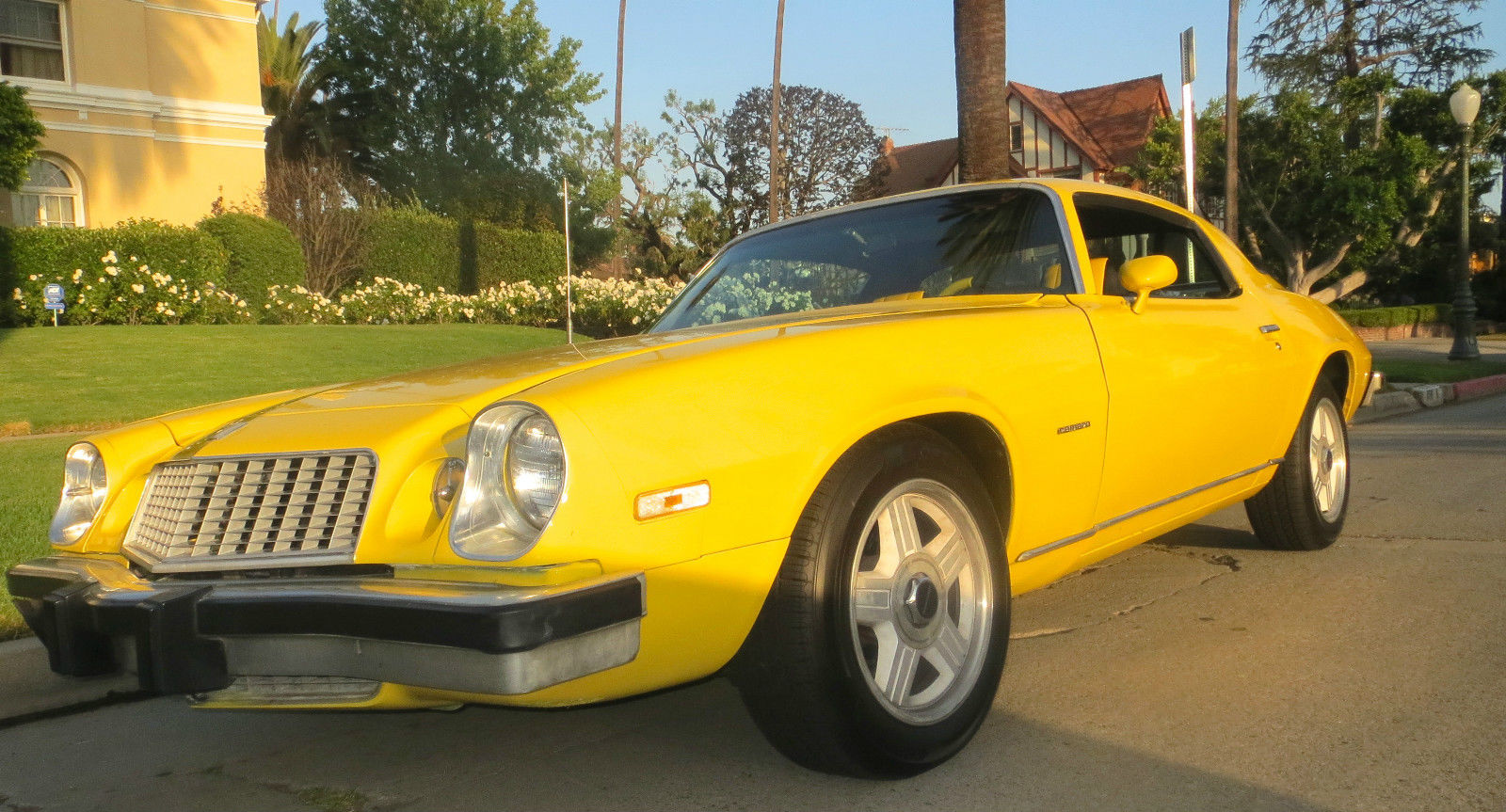 1976 Chevrolet Camaro Lt 57l 350 Daytona Yellow Muscle Car Chevy V8 5 7l Engine Diagram Lt33