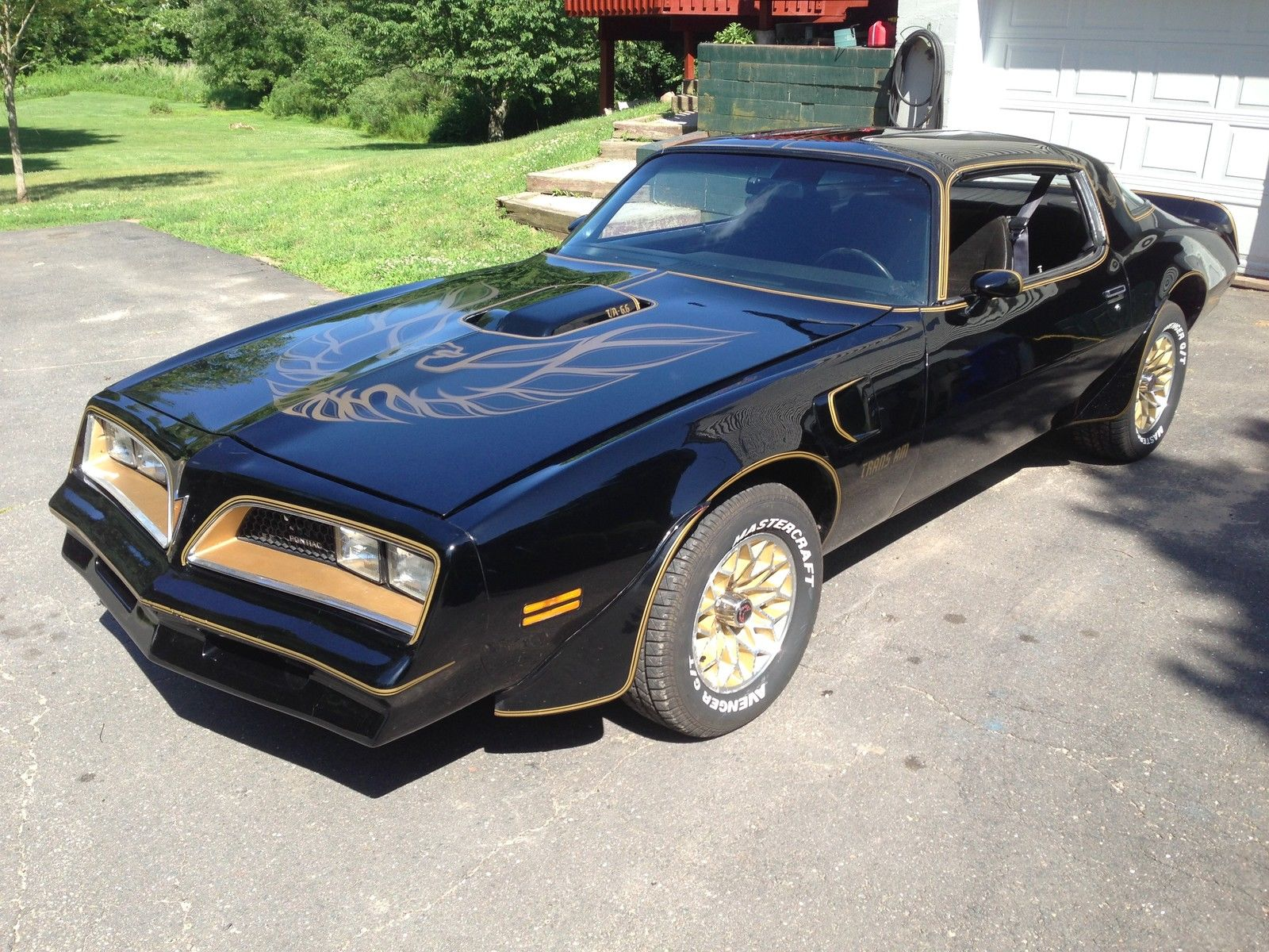 1978 pontiac trans am bandit special edition muscle car. Black Bedroom Furniture Sets. Home Design Ideas