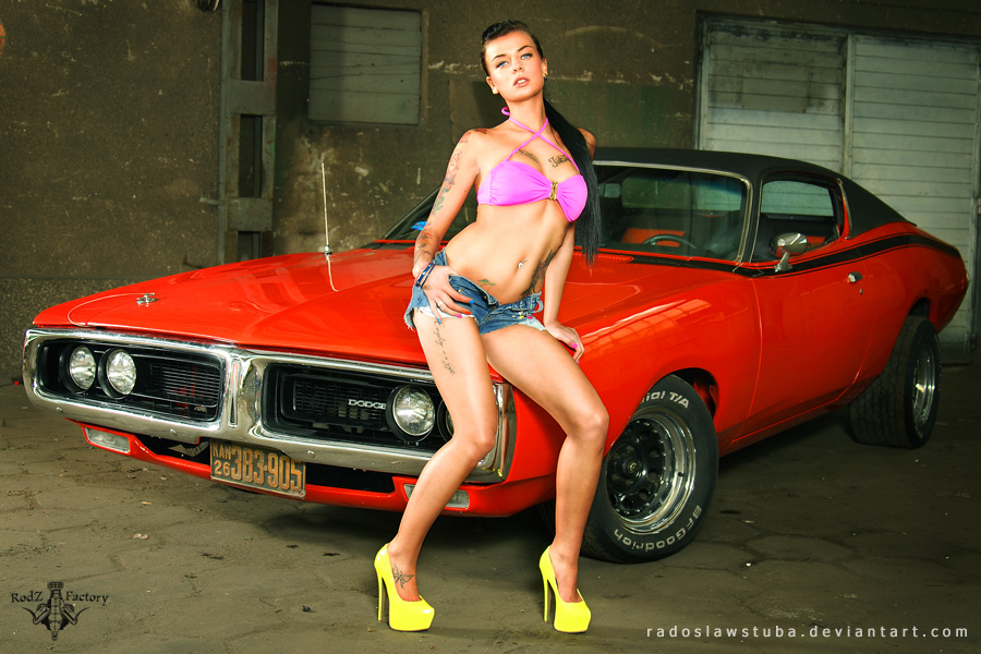 dodge_charger_and_pysia__4__by_radoslawstuba4565645