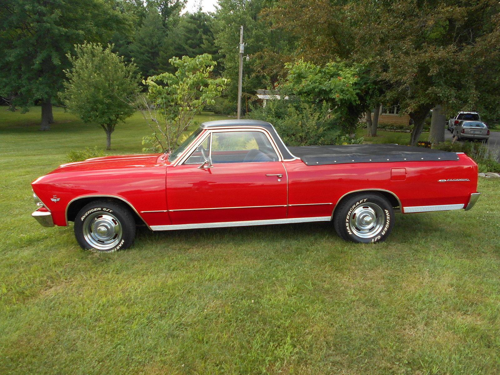 1966 Chevrolet El Camino 327 4 Speed Muscle Car Chevy Elcamino1454