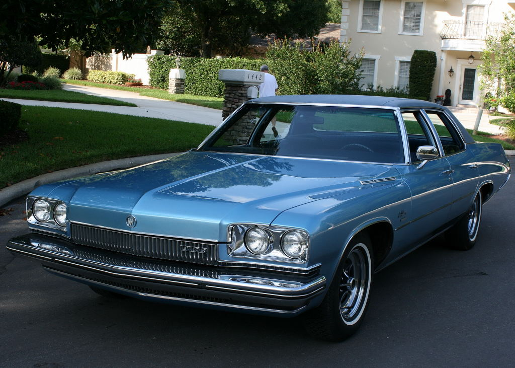 1973 Buick Lesabre Custom 455 4bbl Muscle Car