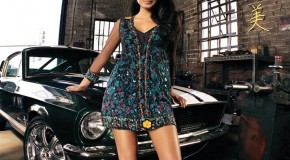 Muscle Car Girl 5656