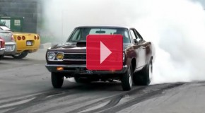 1968 1000hp Hemi Roadrunner Burnout Rat Poison GODFATHER Racing