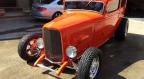1932 Ford Tudor Sedan Hot Rod