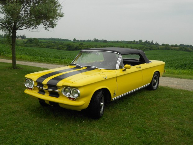 1963 Chevrolet Corvair Spyder-11