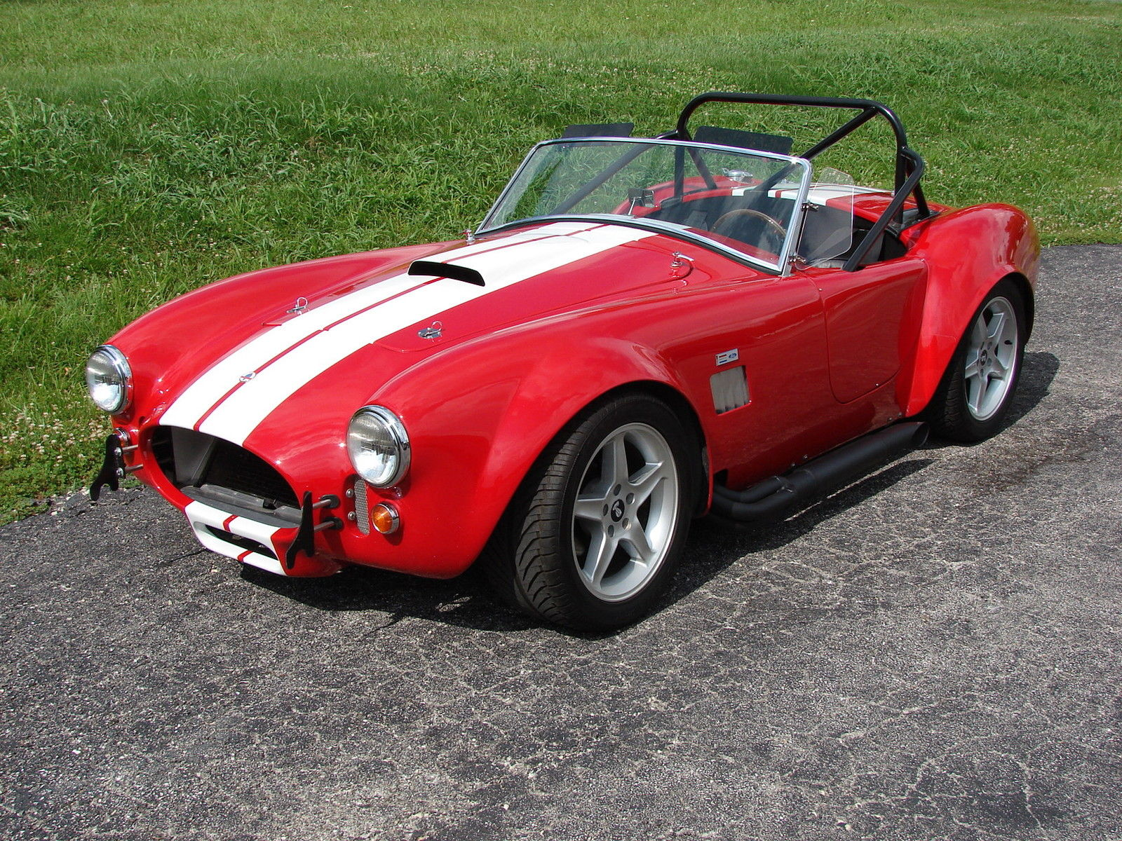1966 shelby cobra factory five track muscle car. Black Bedroom Furniture Sets. Home Design Ideas