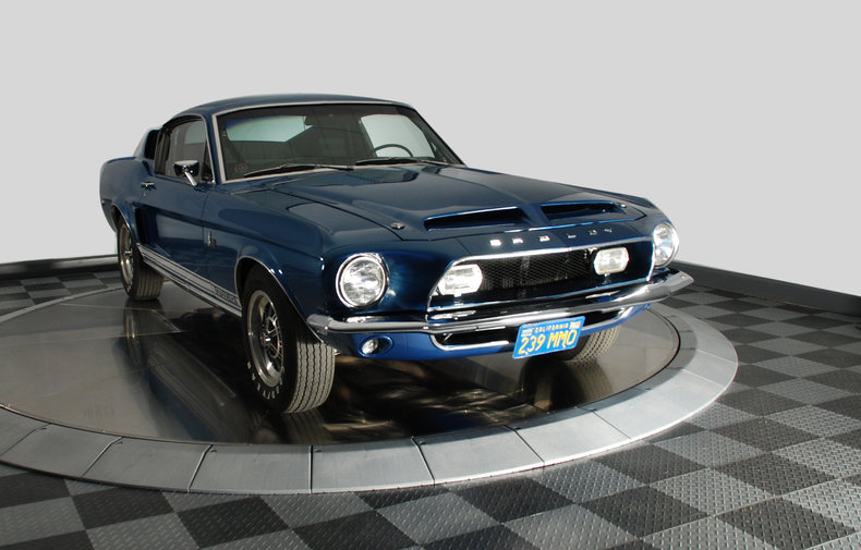 1968 Shelby GT500KR 428 Cobra Jet V8 Ram Air-11