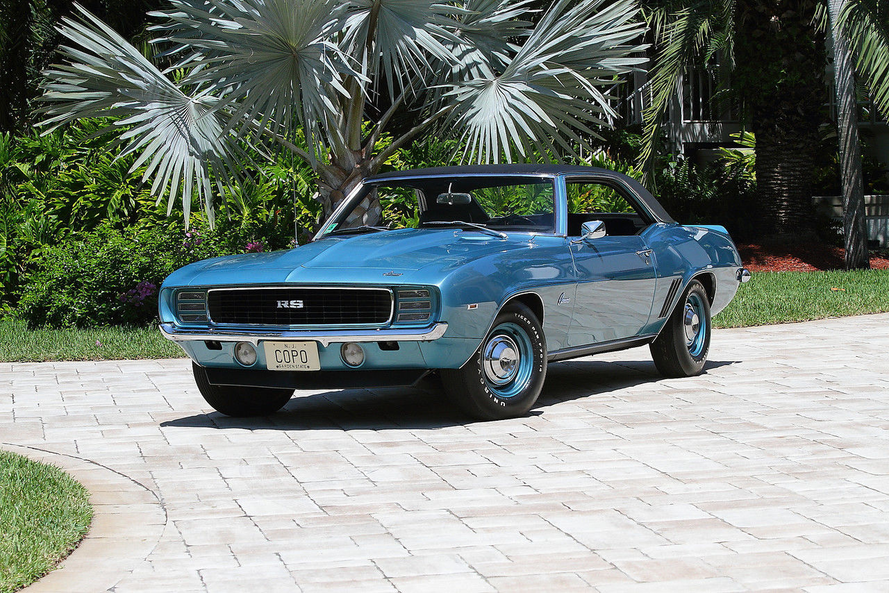 1969 Chevrolet Camaro R S Copo 9561 Coupe Muscle Car