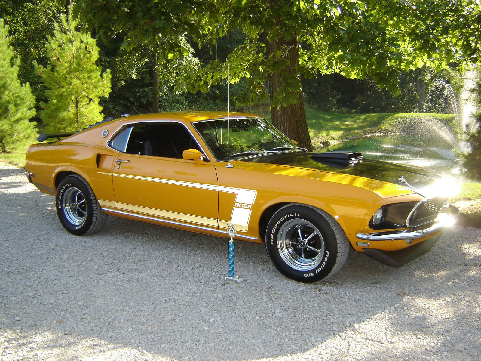 1969 Ford Mustang-1