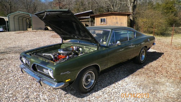 1969 Plymouth Barracuda-1643535