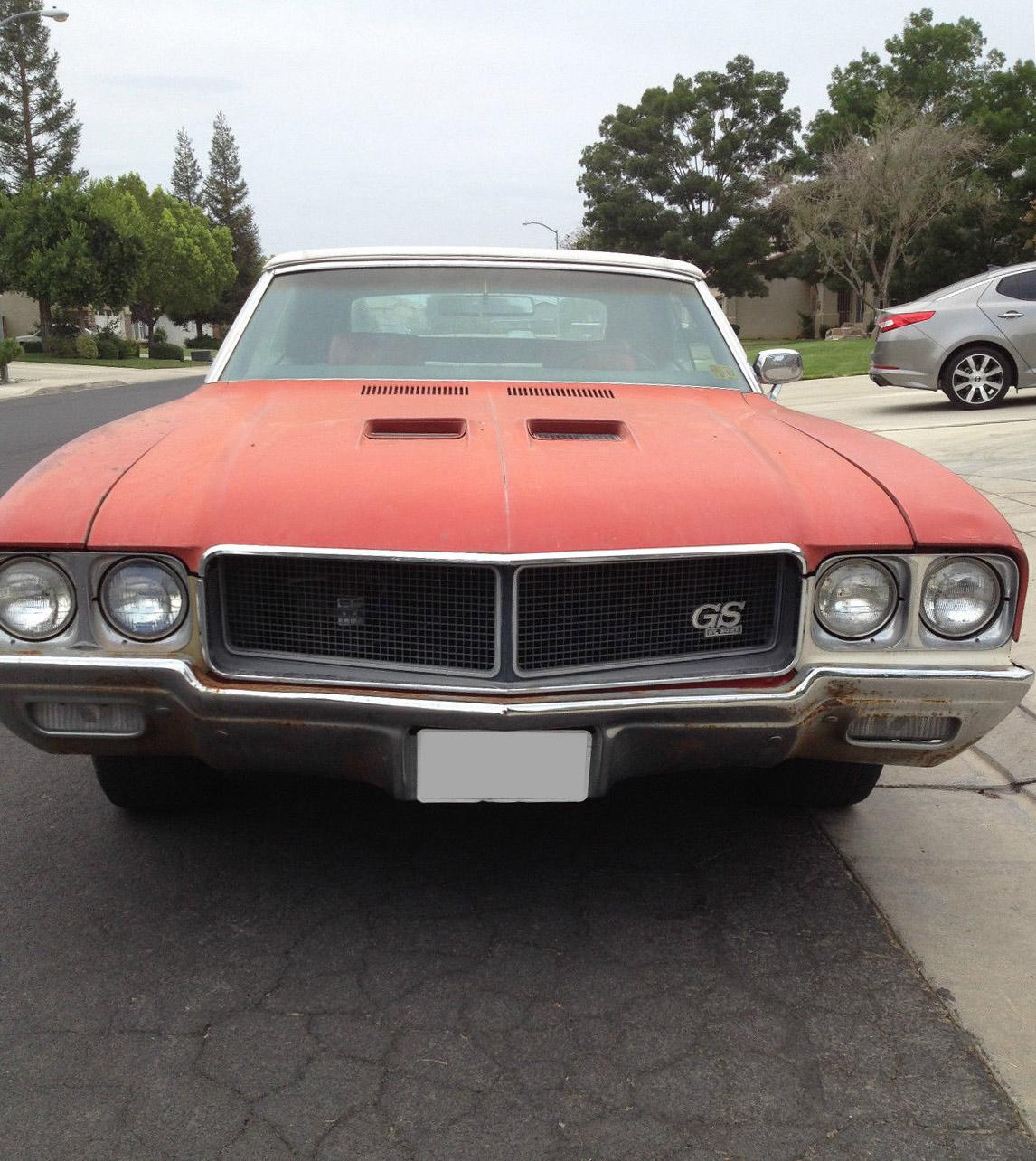 1970 Buick Skylark GS234324