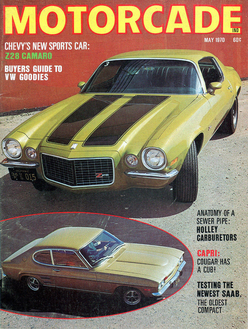 Motorcade May 1970 Camaro Z28 Cover