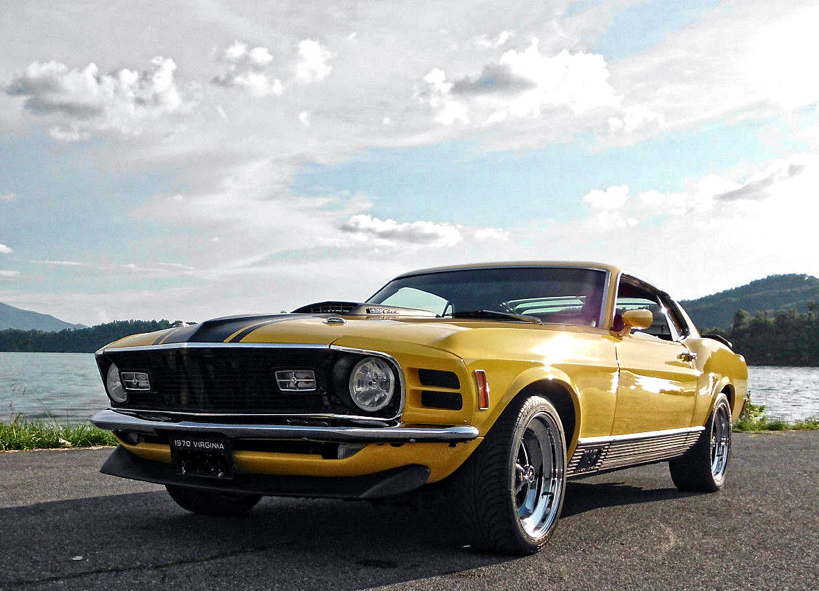 1970 Ford Mustang Mach 1 521 Stroker Super Cobra Jet Muscle Car Fastback 15324234