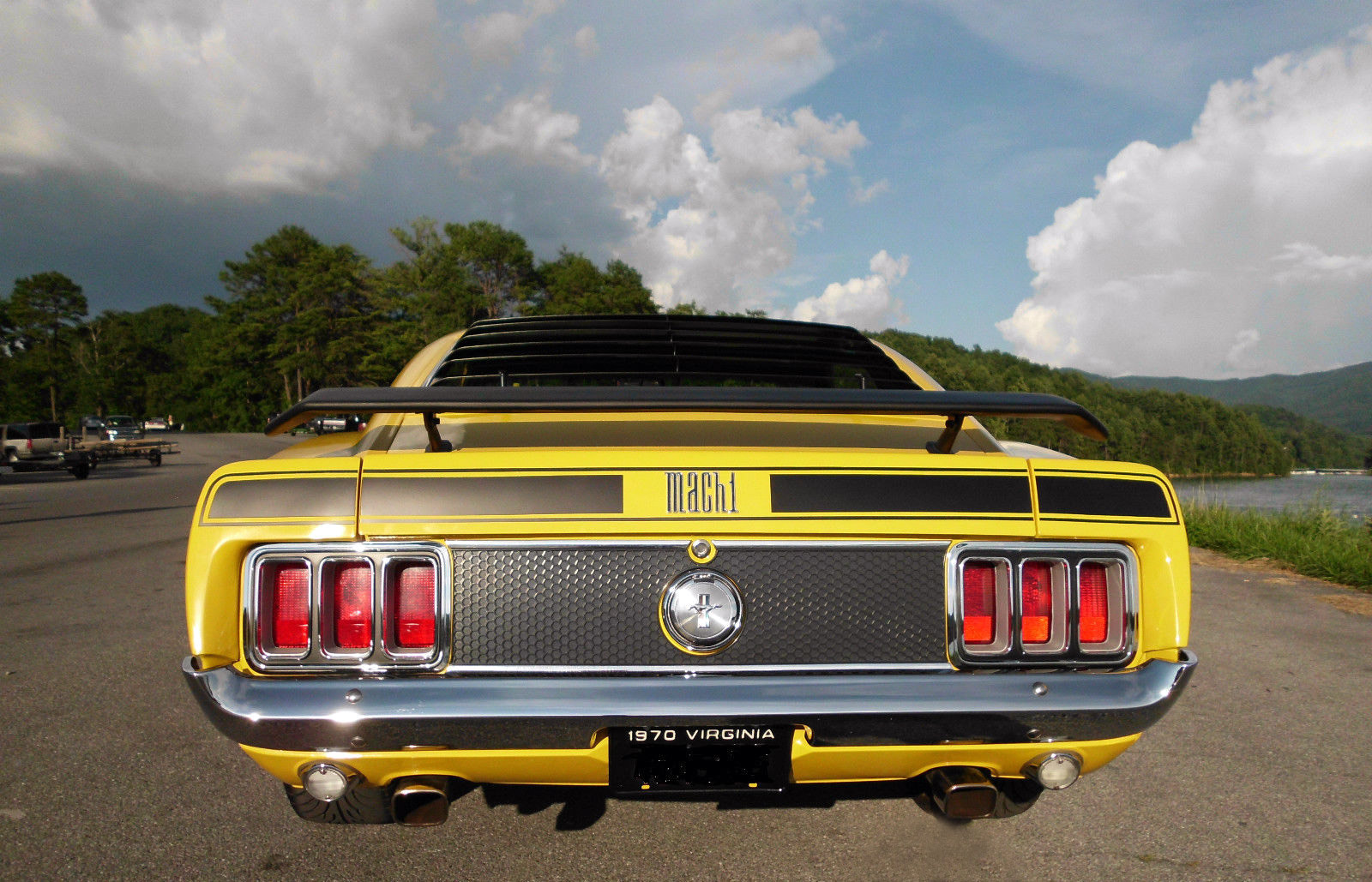 1970 Ford Mustang Mach 1 15435435