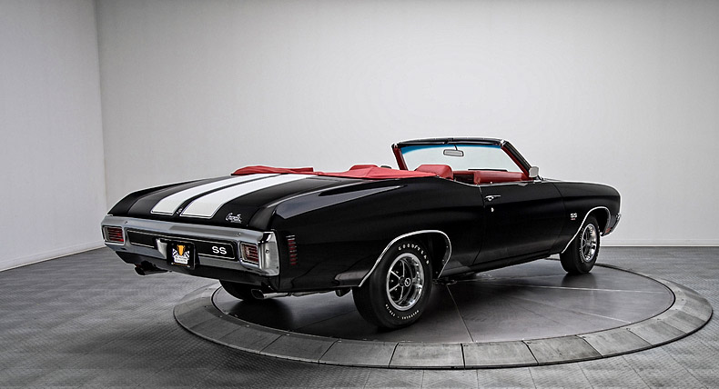 1970 Chevrolet Chevelle SS Convertible 454/450 HP LS6 4 Speed