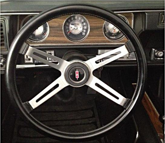 1971 Oldsmobile Cutlass SX-145435