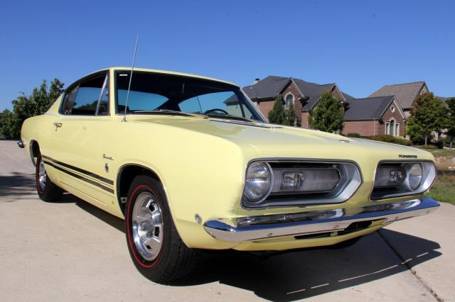 1968 Plymouth Barracuda Formula S Numbers Matching 383