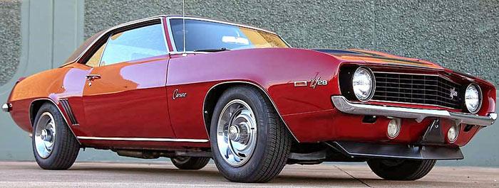 1969 Chevrolet Camaro Z28-fkjshg12
