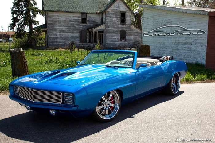 1969 chevrolet camaro supercharged 525hp one of a kind muscle car. Black Bedroom Furniture Sets. Home Design Ideas
