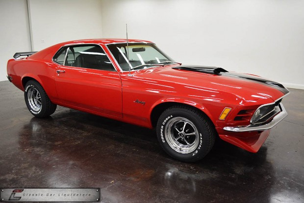 1970 Ford Mustang Fastback 302 V8 Automatic