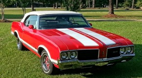 1970 Cutlass Supreme Convertible 350