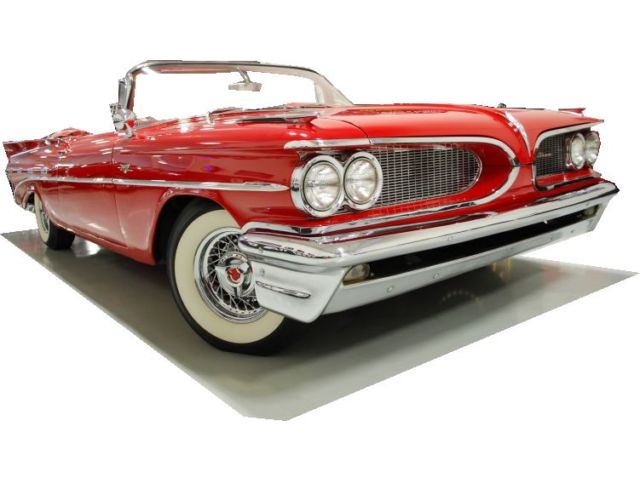 1959 Pontiac Catalina CONVERTIBLE 389 TRI-POWER-fgkjgh122