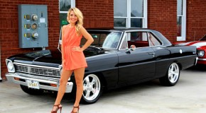 1966 Chevy Nova Girl
