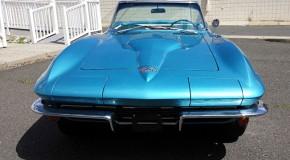 1966 Corvette Roadster Nassau Blue