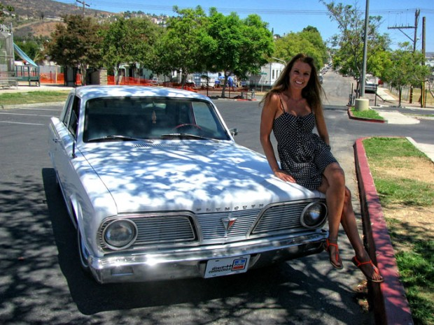 1966 Plymouth girl