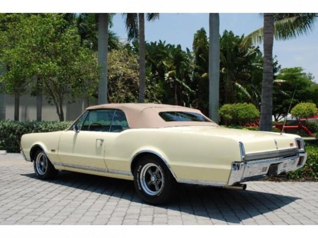 1967 Oldsmobile Cutlass Convertible-rgkjh156t3t