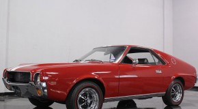 1969 AMC AMX 290 4 Speed Manual, Matador red