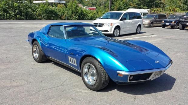 1969 chevrolet corvette 350 300 hp muscle car. Black Bedroom Furniture Sets. Home Design Ideas