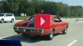 1970 Chevelle SS 396/450HP+ 4-speed getting down on it !