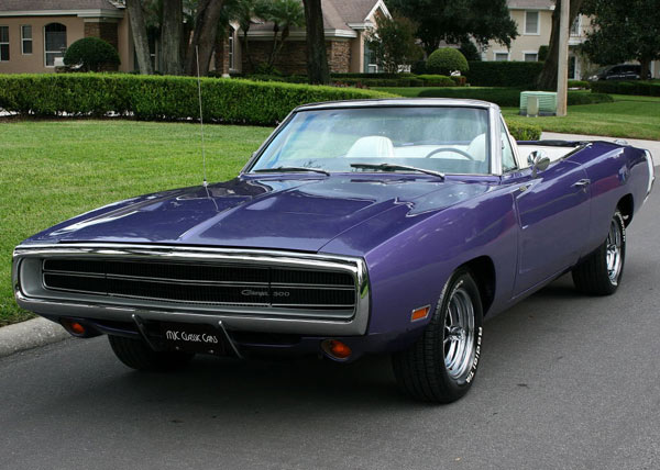 1970 Dodge Charger Convertible 440 Muscle Car