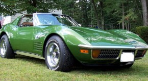 1972 Chevrolet Corvette Stingray, Elkhart Green, 350, 4-Speed, T-Tops