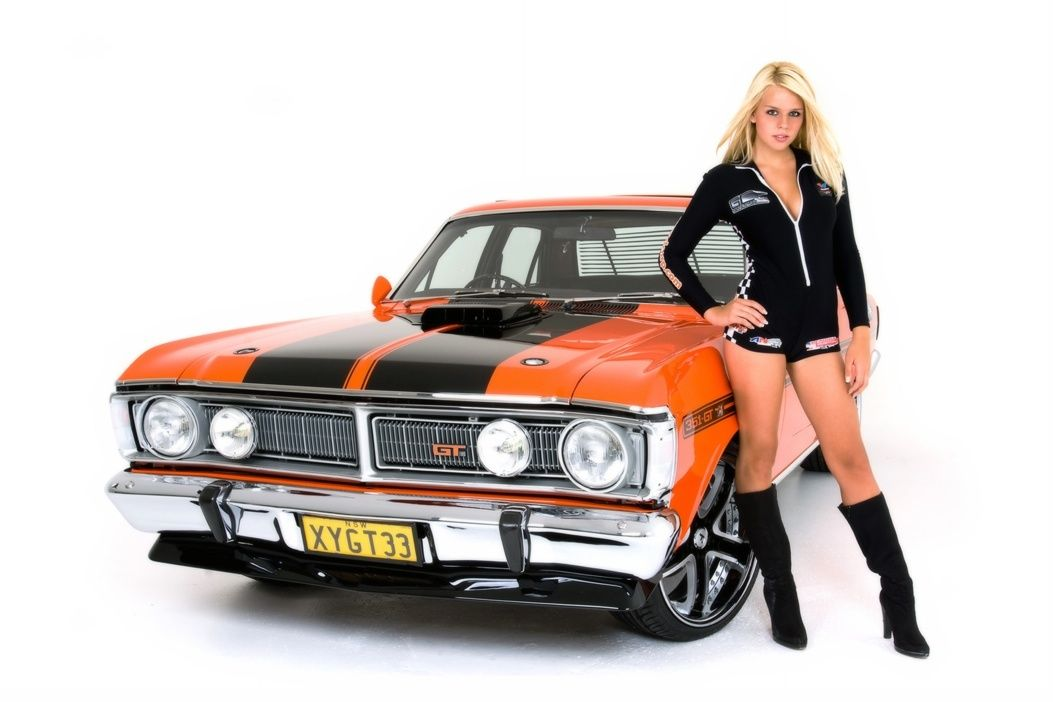 Ford Falcon Hot Girl