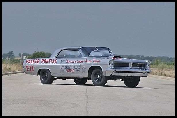 1963 Pontiac Catalina Swiss Cheese 421/405HP. The Most Famous Out of 14 Cars Built.1