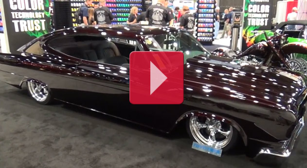"1965 AMC Marlin Street Machine ""Black Marlin"" SEMA 2014"