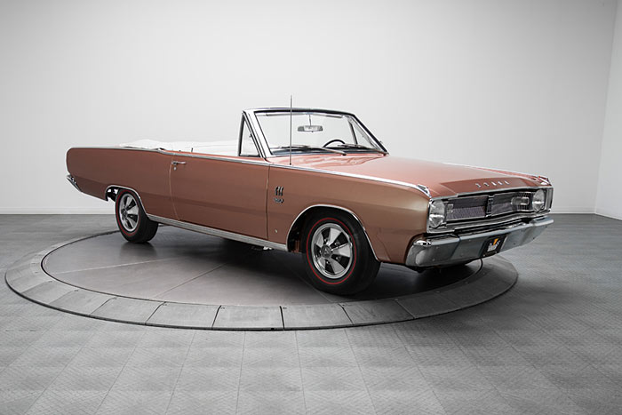 1967-Dodge-Dart-GTS-Convertible-383-4-Speed,-1-of-511