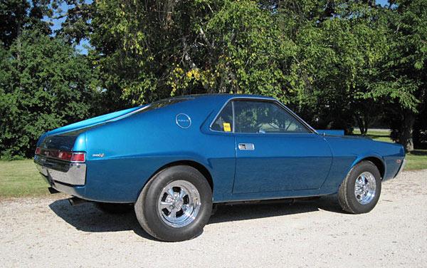 1968 AMC AMX, 390cu., 1 OF 3,0521