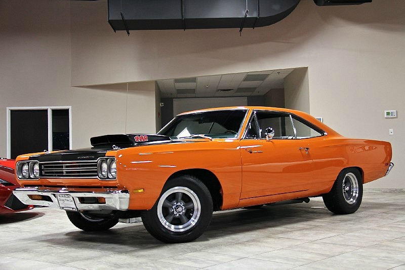 1969 PLYMOUTH ROADRUNNER COUPE 440 Six Barrel-1