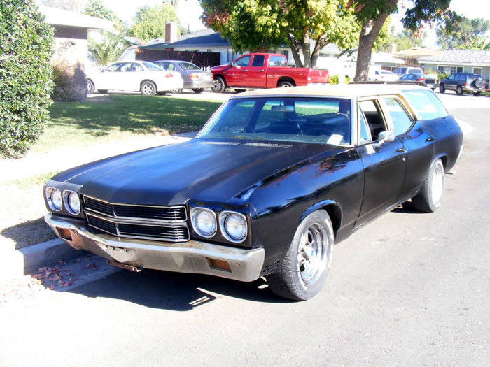 1970 Chevrolet Chevelle Concours Wagon, 350 V8.