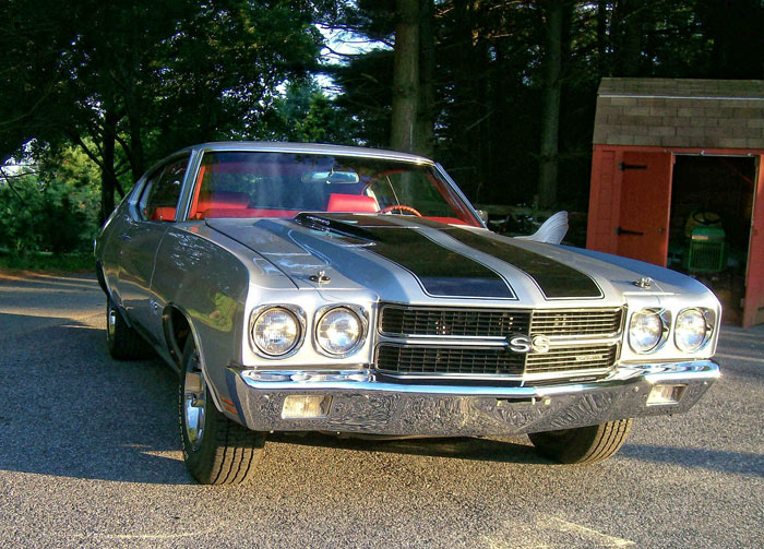 1970 Chevrolet Chevelle SS 454 Engine 4 speed