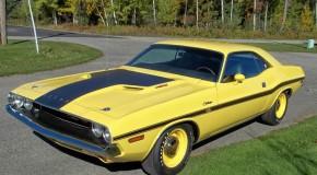 1970 Dodge Challenger R/T 440 Six-Pack V Code