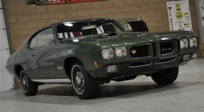 1970 PONTIAC GTO RAM AIR IV 4-Speed, All Numbers Matching
