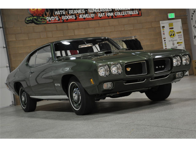 1970 PONTIAC GTO RAM AIR IV 4-Speed, All Numbers Matching-11